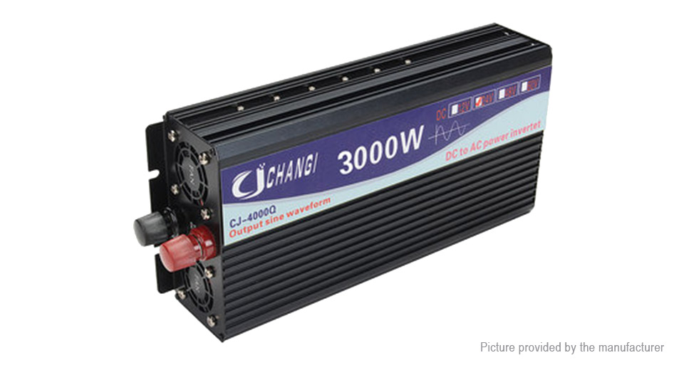 Product Image: changi-car-3000w-dc-24v-to-ac-220v-pure-sine-wave