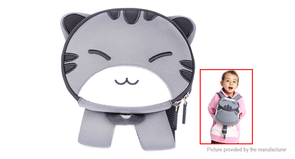 NOHOO 3D Cartoon Cat Styled Childern School Backpack Bag