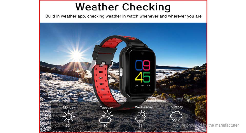 "Q1 Pro 1.54"" TFT Touch Screen LTE Smart Watch Phone"