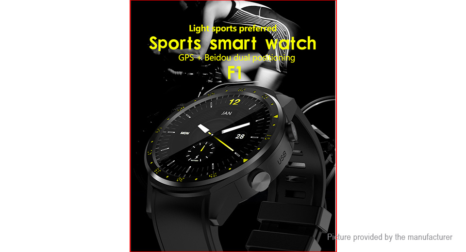 "F1 1.3"" IPS Touch Screen Sports Smart Watch"