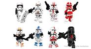 POGO PG8097 Star Wars Figures Building Blocks Educational Toy