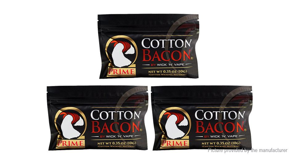 Product Image: authentic-cotton-bacon-prime-cotton-wick-3-pack