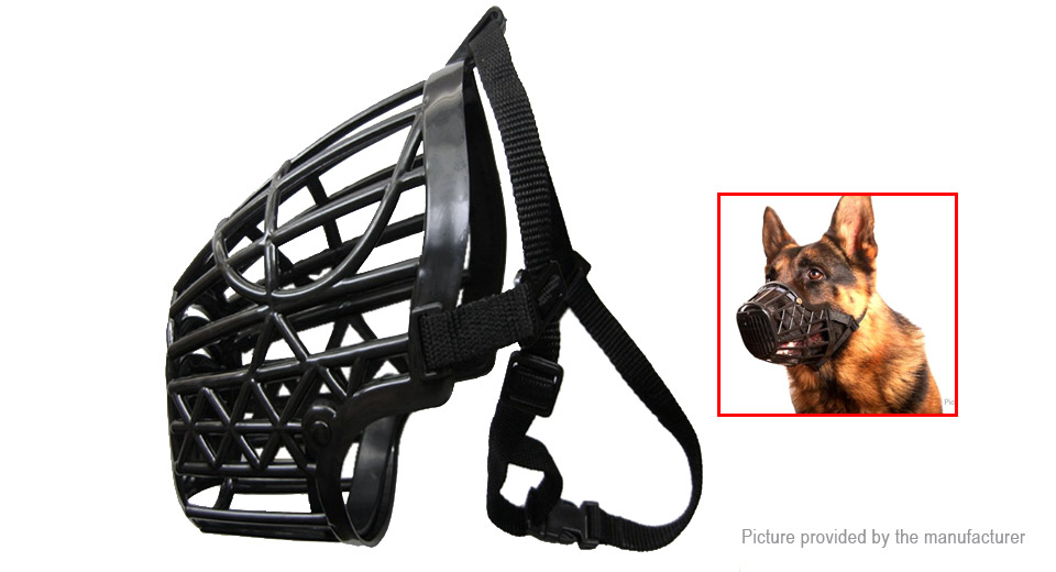 Product Image: plastic-dog-muzzle-anti-bark-cage-basket-stop