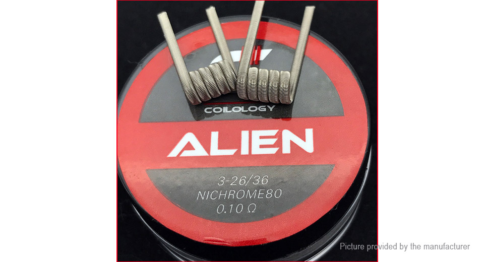 Product Image: authentic-ni80-alien-pre-coiled-wire