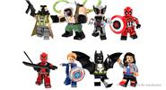 POGO PG8093 Super Hero Series Building Blocks Educational Toy (8 Pieces)