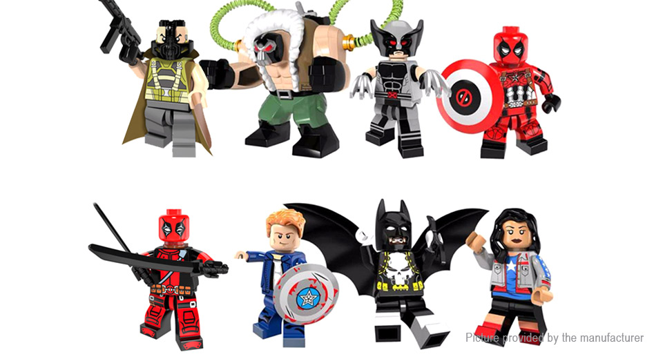 Product Image: pogo-pg8093-super-hero-series-building-blocks