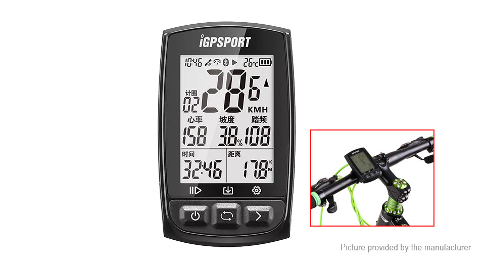 Product Image: igpsport-igs50-outdoor-cycling-gps-computer