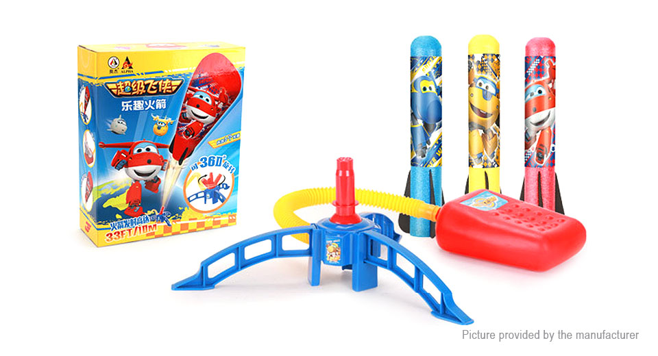 Product Image: super-wings-styled-air-compressed-rocket-launcher