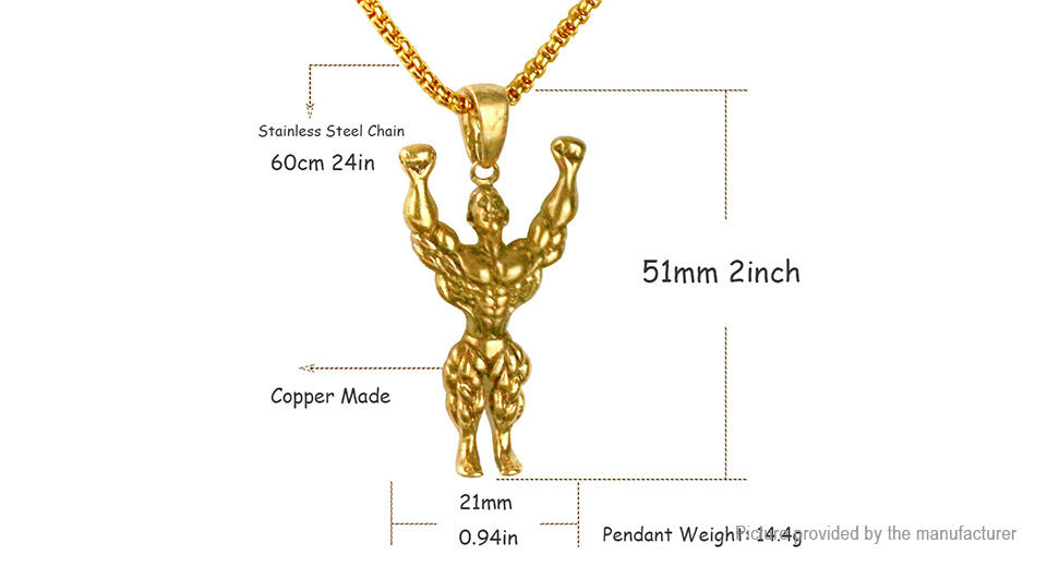 287 bodybuilding muscle man pendant necklace at fasttech bodybuilding muscle man pendant necklace aloadofball Choice Image