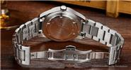 Authentic CARNIVAL Men's Stainless Steel Band Luminous Analog Quartz Wrist Watch