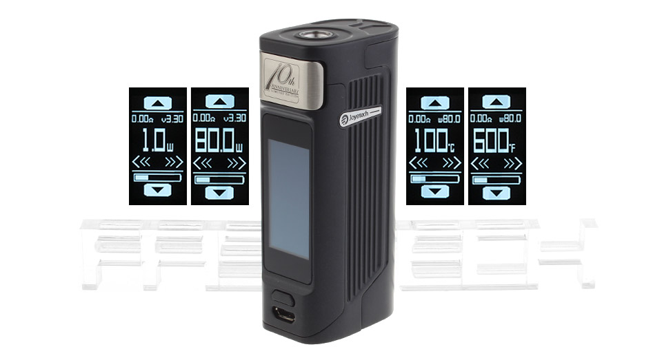 Authentic Joyetech ESPION Solo 80W TC VW APV Box Mod
