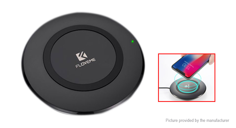 Authentic Floveme Qi Inductive Wireless Charging Pad Transmitter