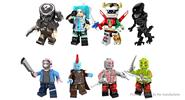 POGO PG8102 Guardians of the Galaxy Building Blocks Educational Toy (8 Pieces)