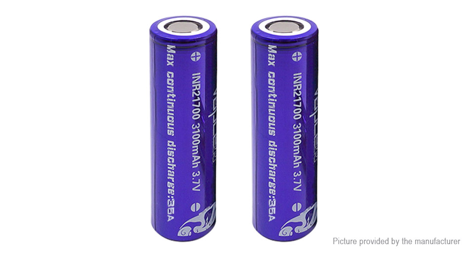Product Image: vapcell-inr-21700-3-7v-3100mah-rechargeable-li
