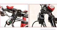 GUB 693 Bicycle Handlebar Bike Computer Extension Bracket Extender Mount