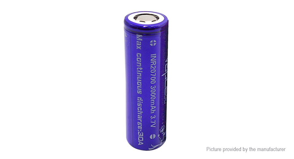 Product Image: vapcell-20700-3-7v-3000mah-rechargeable-li-ion