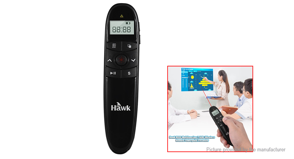 Product Image: hawk-r800-remote-control-ppt-presenter-laser