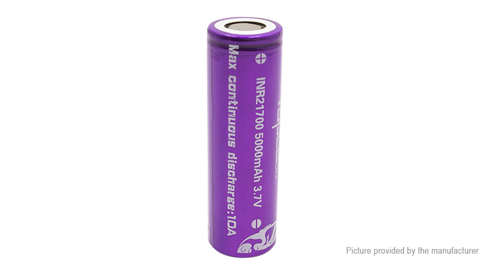Product Image: vapcell-inr-21700-3-7v-5000mah-rechargeable-li