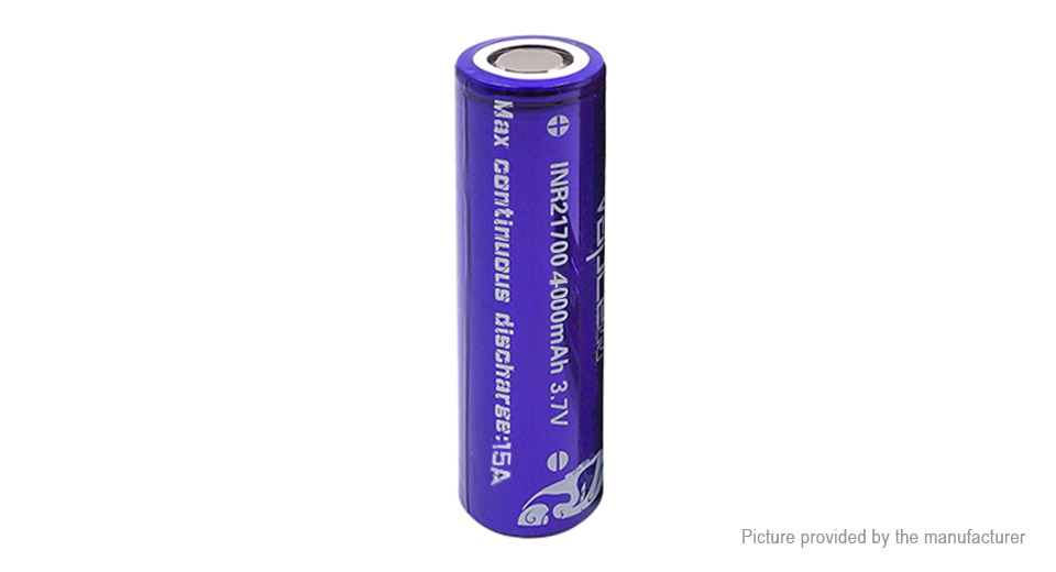 Product Image: vapcell-inr-21700-3-7v-4000mah-rechargeable-li