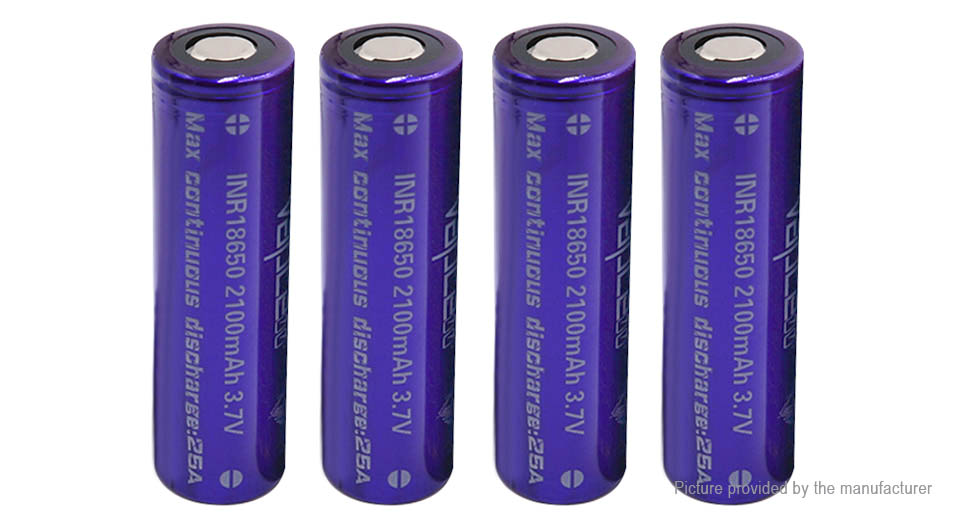 Product Image: vapcell-18650-3-7v-2100mah-rechargeable-li-ion