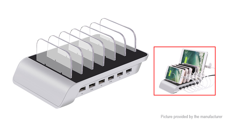 Product Image: ym-ud06-6-port-usb-desktop-charger-power-adapter