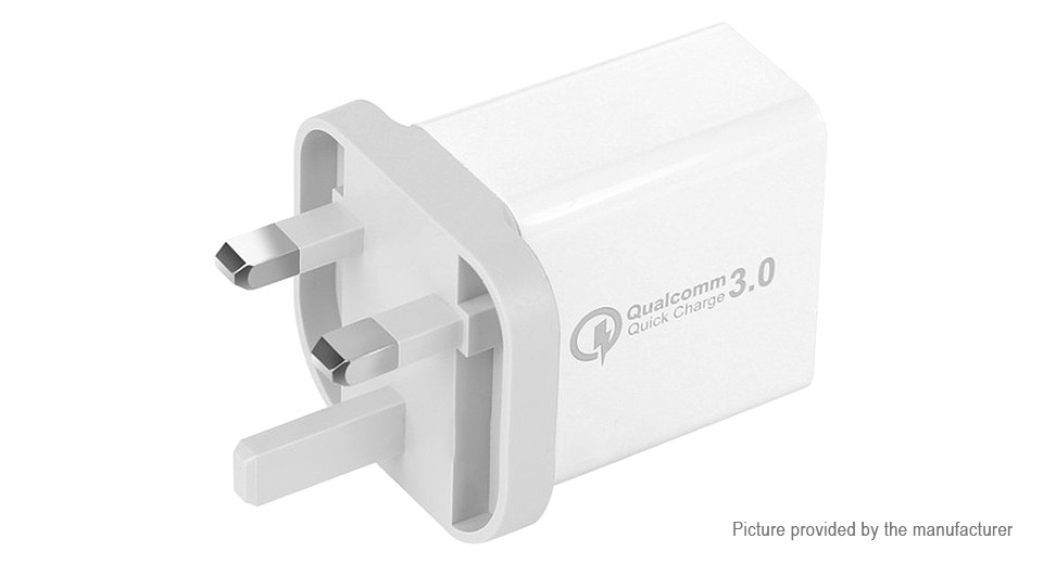 Product Image: klc30w-3-port-usb-wall-charger-power-adapter-uk