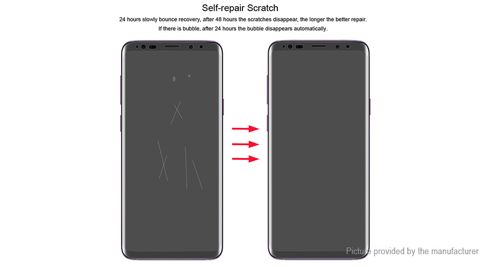 Hat.Prince 3D Hydrogel Full Screen Protector for Samsung Galaxy S9+