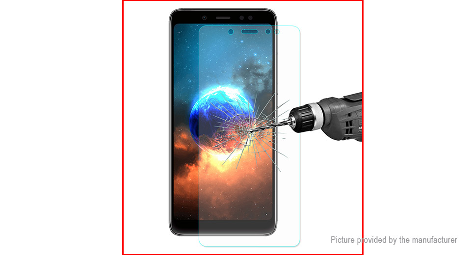 Hat.Prince 2.5D Tempered Glass Screen Protector for Xiaomi Redmi Note 5 Pro