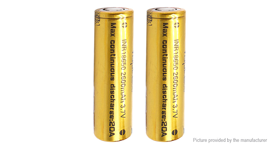 Product Image: authentic-vapcell-inr-18650-3-7v-2600mah