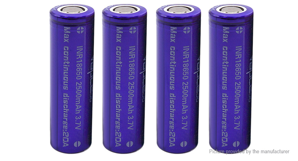 Product Image: authentic-vapcell-18650-3-7v-2500mah-rechargeable