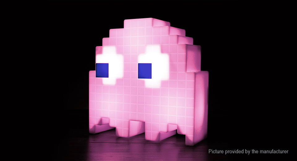 20.42 Pac-Man Ghost Light LED Night Lamp - USB powered at ... 23ad97823c4e