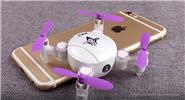 KK3 Mini Foldable R/C Quadcopter (Wifi FPV, 0.3MP)