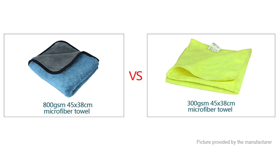 Super Water Absorbant Microfiber Car Washing Cleaning Cloth (45*38cm)