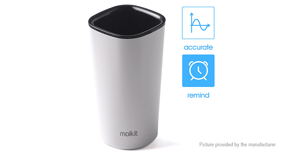 Moikit Cuptime2 Bluetooth V4.0 Smart Water Bottle (360ml)
