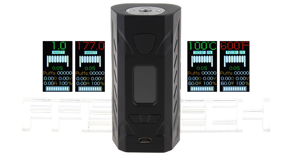 Product Image: authentic-hotcig-g177-177w-tc-vw-apv-box-mod