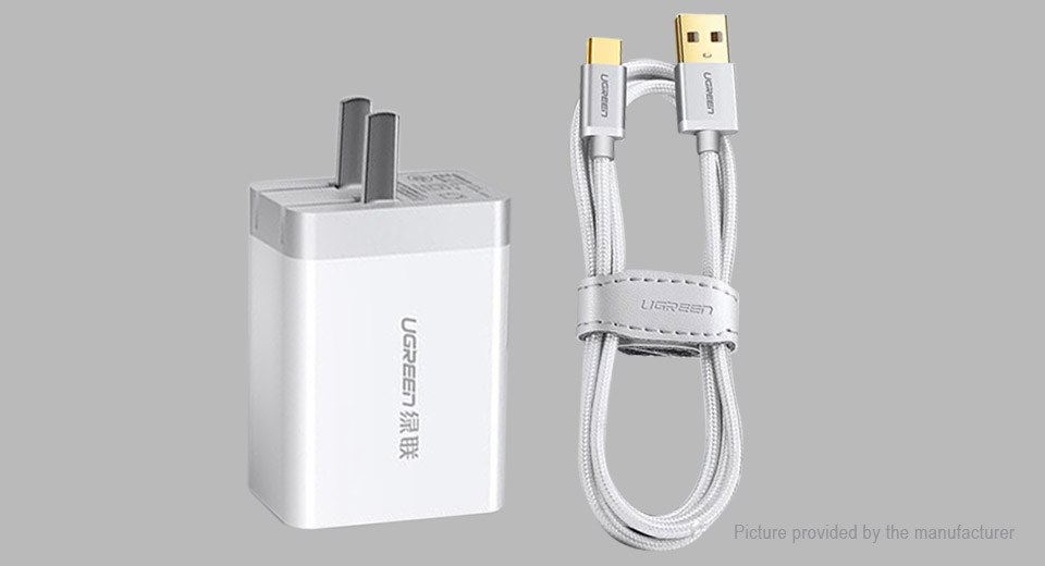 Product Image: authentic-ugreen-portable-dual-usb-wall-charger