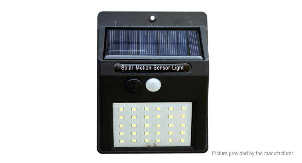 Product Image: solar-powered-pir-motion-sensor-led-garden-wall