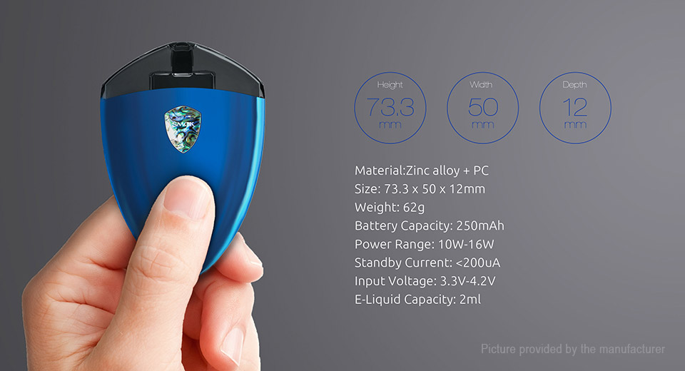 Authentic Smoktech SMOK Rolo Badge 250mAh Starter Kit (EU Edition)