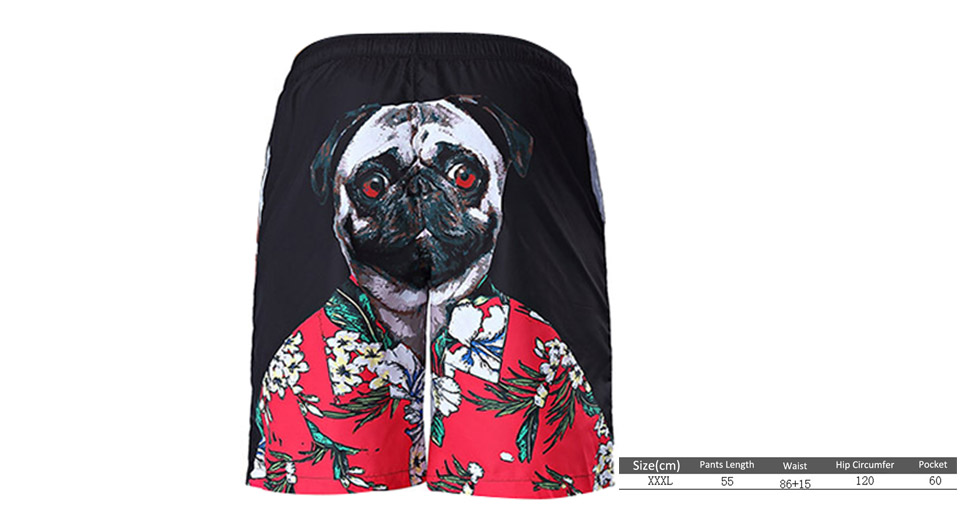 Product Image: 3d-dog-print-men-s-quick-dry-casual-sports-beach