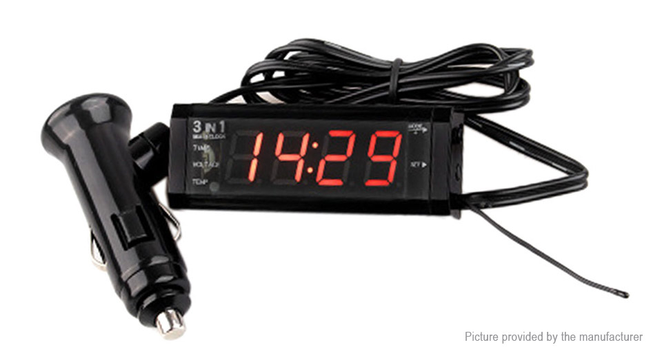 Product Image: vst-wf-518-3-in-1-car-digital-clock-w-voltmeter