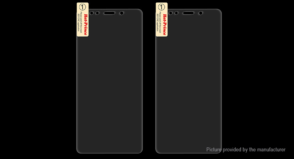 Hat.Prince Tempered Glass Screen Protector for Xiaomi Redmi Note 5 Pro (2-Pack)
