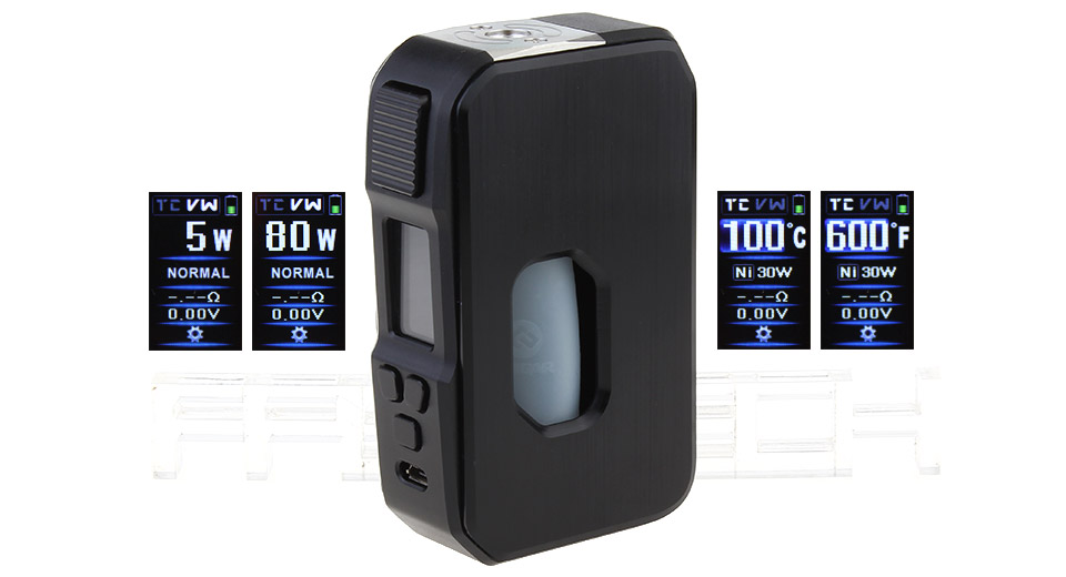 Product Image: authentic-hcigar-aurora-80w-tc-vw-apv-squonk-box