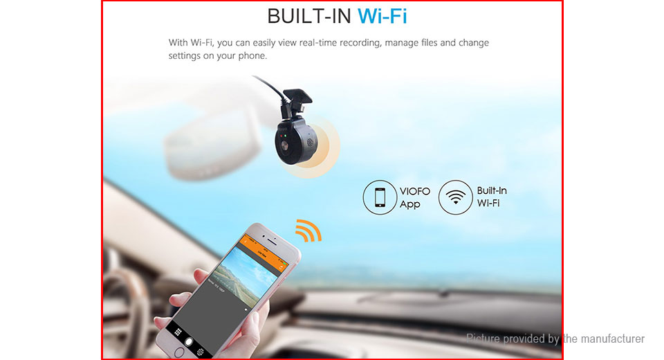 Authentic VIOFO WR1 1080p Car Dashcam HD Camera Wifi DVR Camcorder