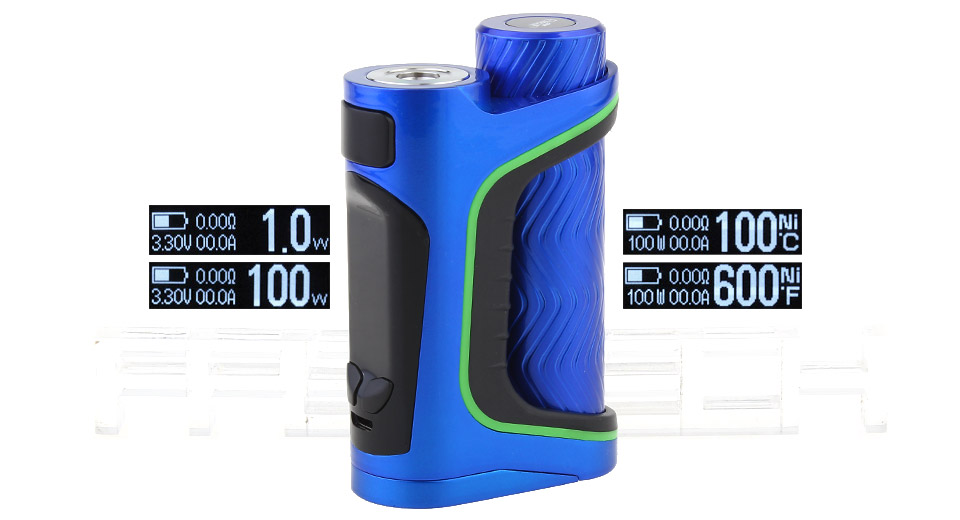 Authentic Eleaf iStick Pico S 100W TC VW APV Box Mod (Blue)