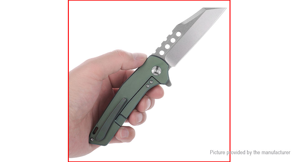 FURA·GEAR Outdoor Survival Titanium Alloy Folding Knife