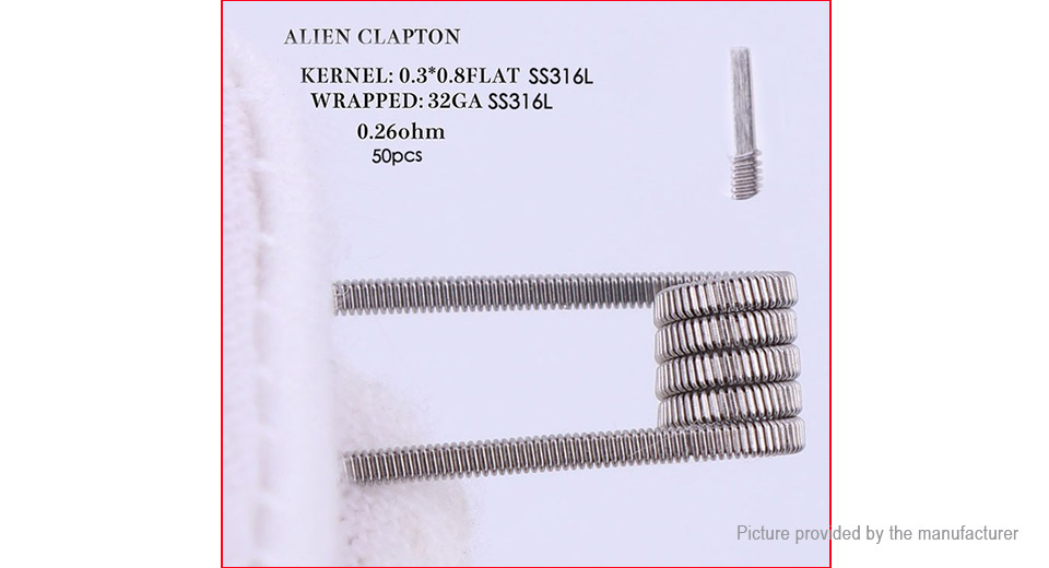 Product Image: authentic-xfkm-316l-stainless-steel-alien-clapton