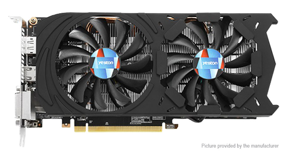 Yeston GTX1060-6G D5 GD 6GB GDDR5 Desktop Gaming Graphics Card