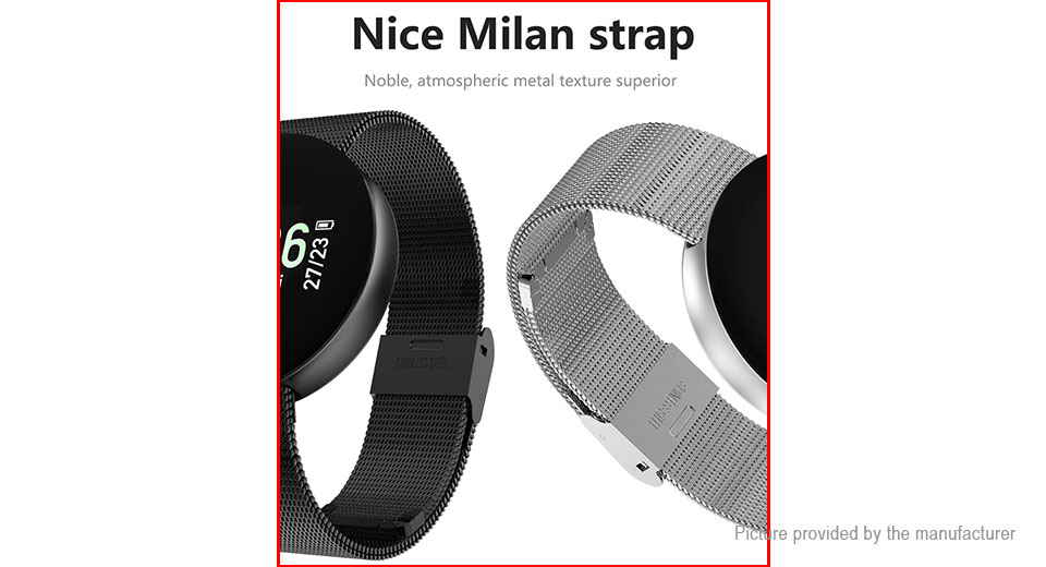 CF008 0.96'' OLED Touch Screen Smart Bracelet Wristband