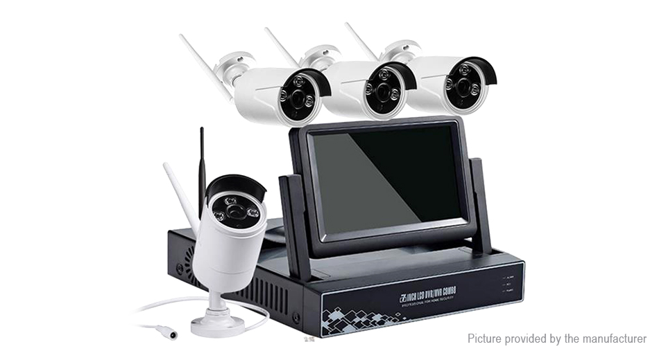 Product Image: authentic-hiseeu-4ch-7-lcd-nvr-960p-home-security