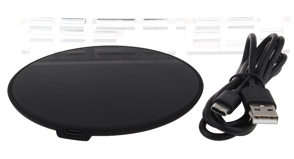 H1 Round Shaped Qi Inductive Wireless Charging Pad